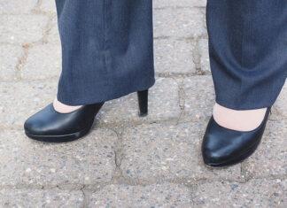 Patchworkowe spodnie